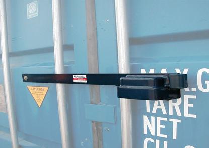 Billede af Låsebom 76 cm t/container incl. hængelås