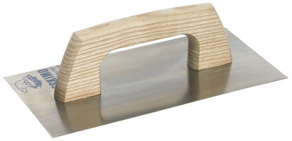 Billede af Glitteplade 62/450x260 mm stål - trækbræt