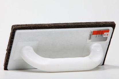 Billede af Pudsebræt, masonit m/filt
