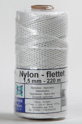 Billede af Nylonsnor 1,5 mm x 220 mtr