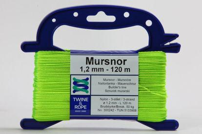 Billede af Mursnor 6/8 neon på vindsel