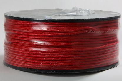 Billede af Flisesnor 6 mm x 220 mtr. rød