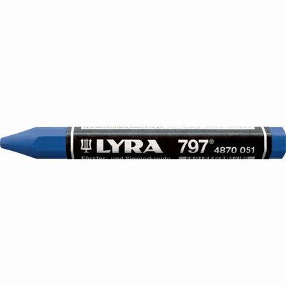 Billede af Lyra mærkekridt - blå