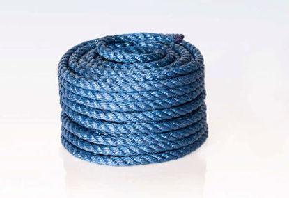 Billede af Polyreb blå 12 mm x 20 mtr
