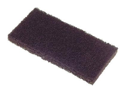 Billede af Svamp til Pad bræt, sort, 12x24 cm