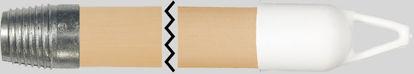 Billede af Kosteskaft ø23x1500 mm ( m.gevind ) Træskaft