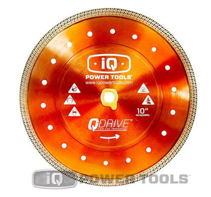 "Billede af IQ Powertools Q-Drive Combo Diamantklinge 10""/254mm Keramik/Granit"