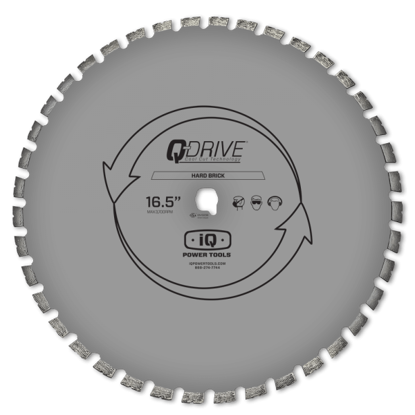 "Billede af IQ Powertools Q-Drive Diamantklinge 16,5""/420mm Beton"