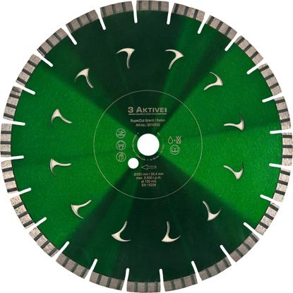 Billede af Diamantklinge SuperCut 350 mm Granit/Beton (Grøn)