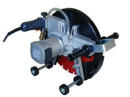 Billede af Cardi Kapsav SM410 C m/hjul, 230V/3000W - Ø400/155 mm (til 100 mm retskinne)