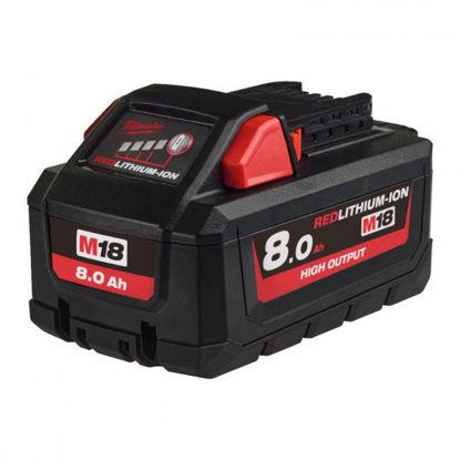 Billede af Milwaukee Batteri M18 HB8 18V/8.0AH Li-ION