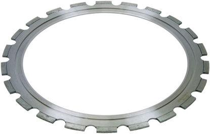 Billede af Ringsavklinge, Beton (Gul) inkl. drivhjul