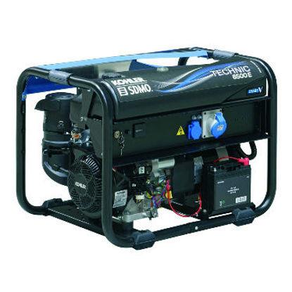 Billede af SDMO Technic 6500 E Generator