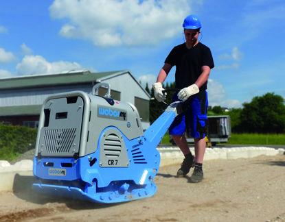 Billede af Weber CR7 pladevibrator, Hatz (475 kg)