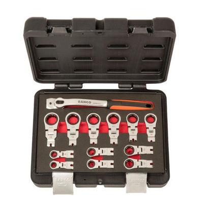 Billede af Bahco Ringskraldesæt 8-19 mm i kuffert, 12 dele, RM42/S12
