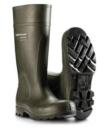 Billede af Dunlop Purofort, sh-gummistøvle, str. 45