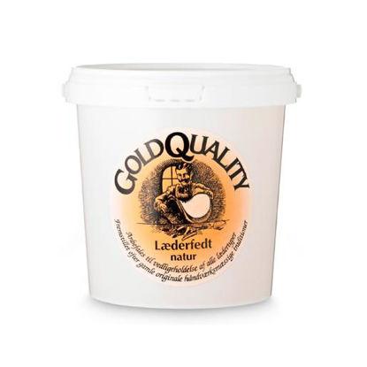 Billede af Gold Quality Læderfedt 1000 ml - natur