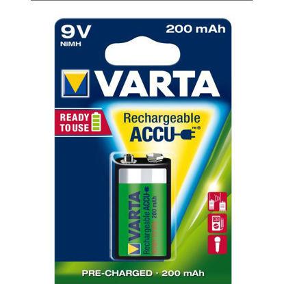 Billede af Batteri 9V, genopladelig 8,4V