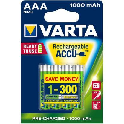 Billede af Batteri AAA, genopladelig