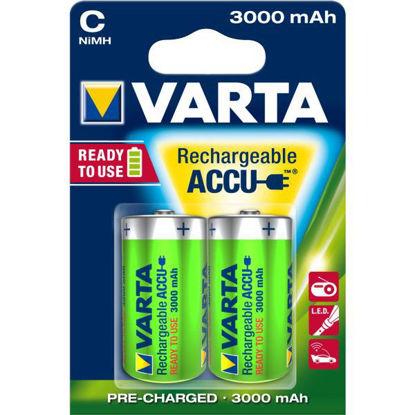 Billede af Batteri R14/C, genopladelig