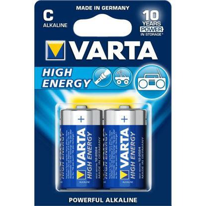 Billede af Batteri LR14/C Alkaline 1,5V pk. á 2 stk