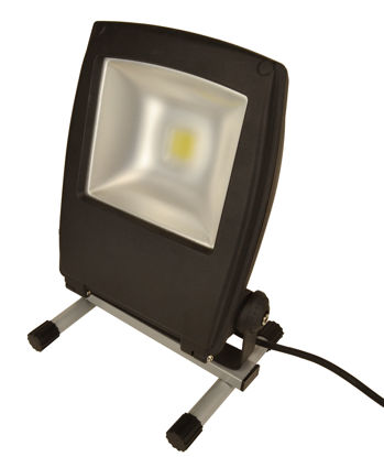 Billede af Arbejdslampe LED, 10W/750 Lumen, på fod.