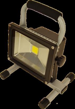 Billede af Akku-arbejdslampe LED 20W/1500 lumen
