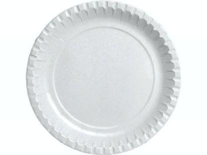 Billede af Tallerken frokost ø18 cm 100 stk/pk