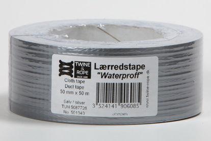 Billede af Gaffatape sølvgrå, k-model, 50 mm x 50 mtr
