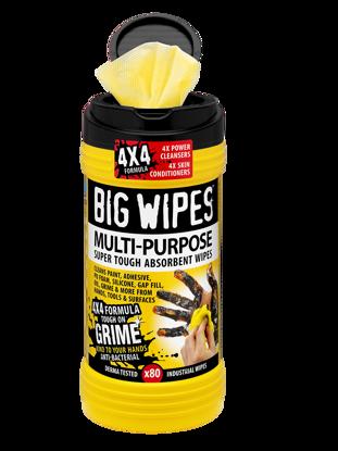 Billede af Big Wipes Multi-Purpose renseserviet, 80 stk