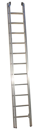Billede af JUMBO Skydestige 2x11 trin. 5,4 m.