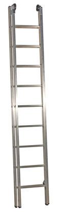 Billede af JUMBO Skydestige 2x9 trin. 4,6 m.