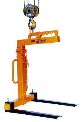 Billede af FE Pallegaffel 1053.3 - 1500 kg - justerbare gafler