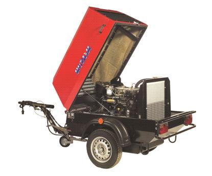 Billede af Rotair Mobilkompressor MDVN 36AP kpl.