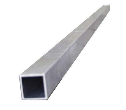 Billede af Firkantrør stål, 2 mtr.