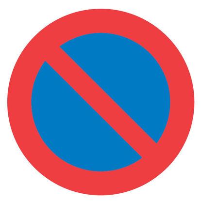 Billede af Forbudstavle C62 Parkering forbudt