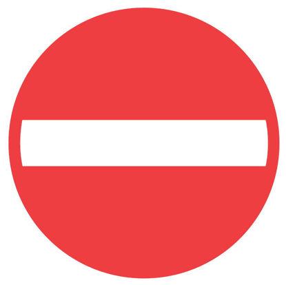 Billede af Forbudstavle C19 Indkørsel forbudt
