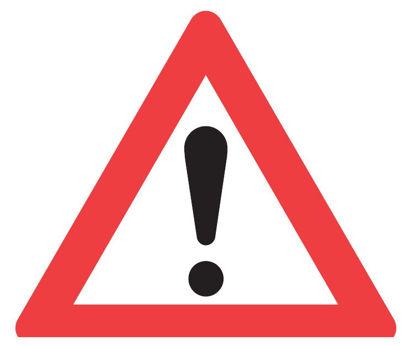 Billede af Advarselstavle A99 Anden fare, 70 cm
