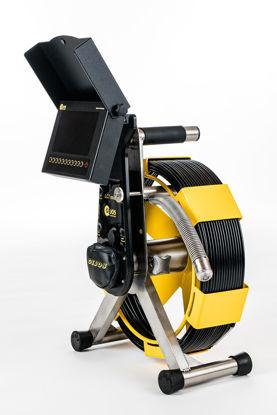 Billede af Gejos Inspektionskamera PIC 3.0 LCI kpl. inkl. 30 mm SO-Axialkamerahoved og slæde DN70