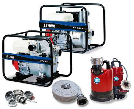 Billede til varegruppe Pumper og koblinger
