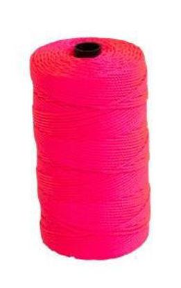 Billede af Mursnor pink 1,5 mm x 220 m (flettet flugtsnor)